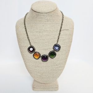 💥3 for $25💥Jewel Earth Tone Rainbow Necklace